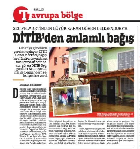 Türkiye Gazetesi 2013